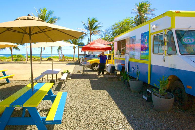 el rey del mar seafood mexican food truck kapaa