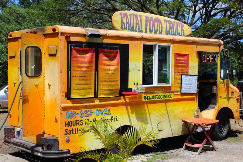 Best Food Trucks In Kauai Food