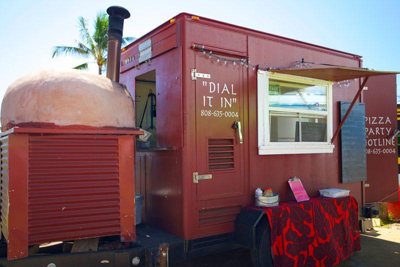 Live Fire Pizza Truck, Kapaa