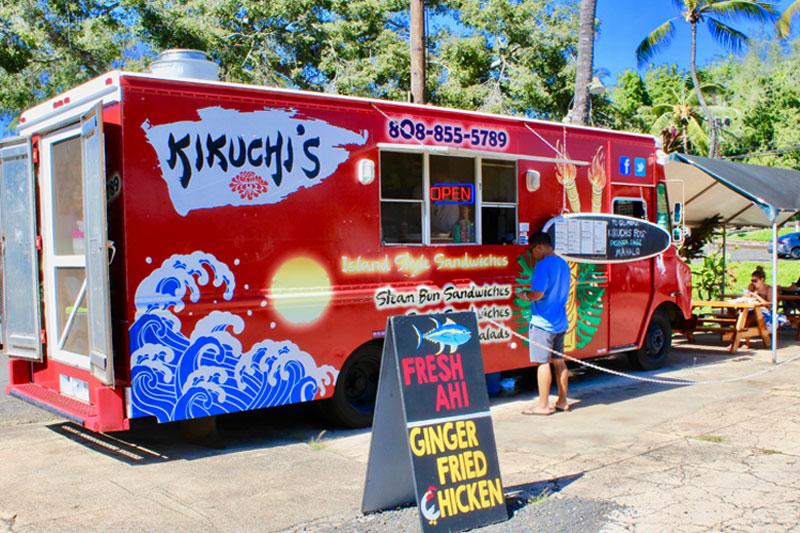 Kikuchi's Food Truck, Lihue, Kauai