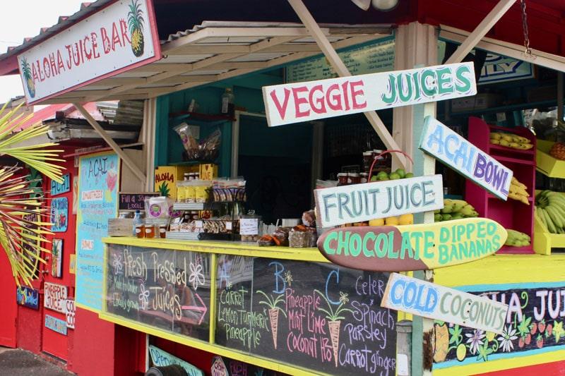 Aloha Juice Bar Truck Hanalei