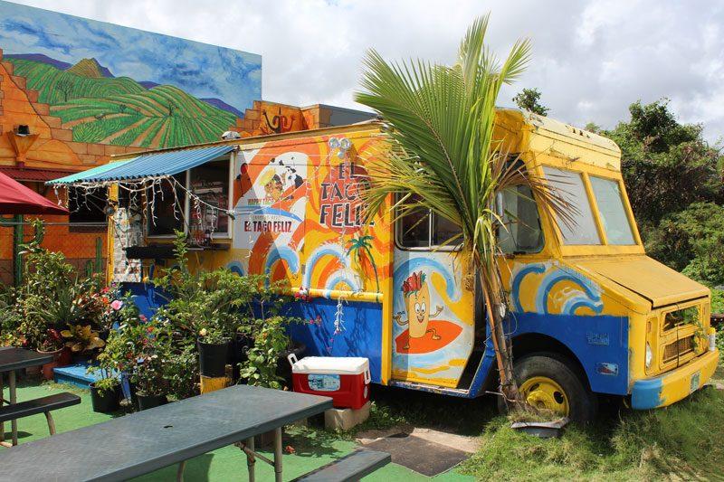 El Taco Feliz Mexican Food Truck Kapaa