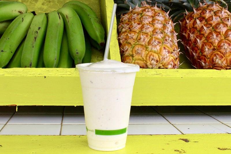Aloha Juice Bar Hanalei Smoothie
