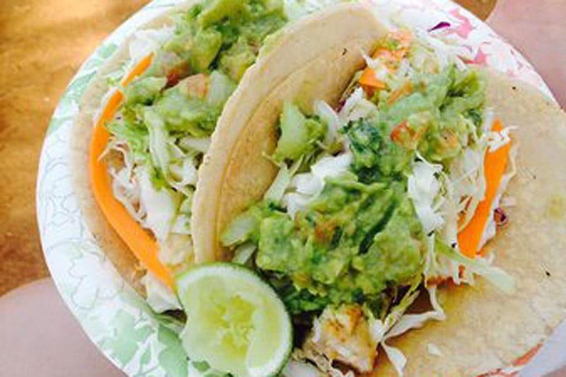 Rafael's Food Truck Fish Tacos